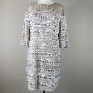 Dolce Vita Embroidered Shift Dress